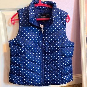 Lands' End Adult Small Puffer Vest